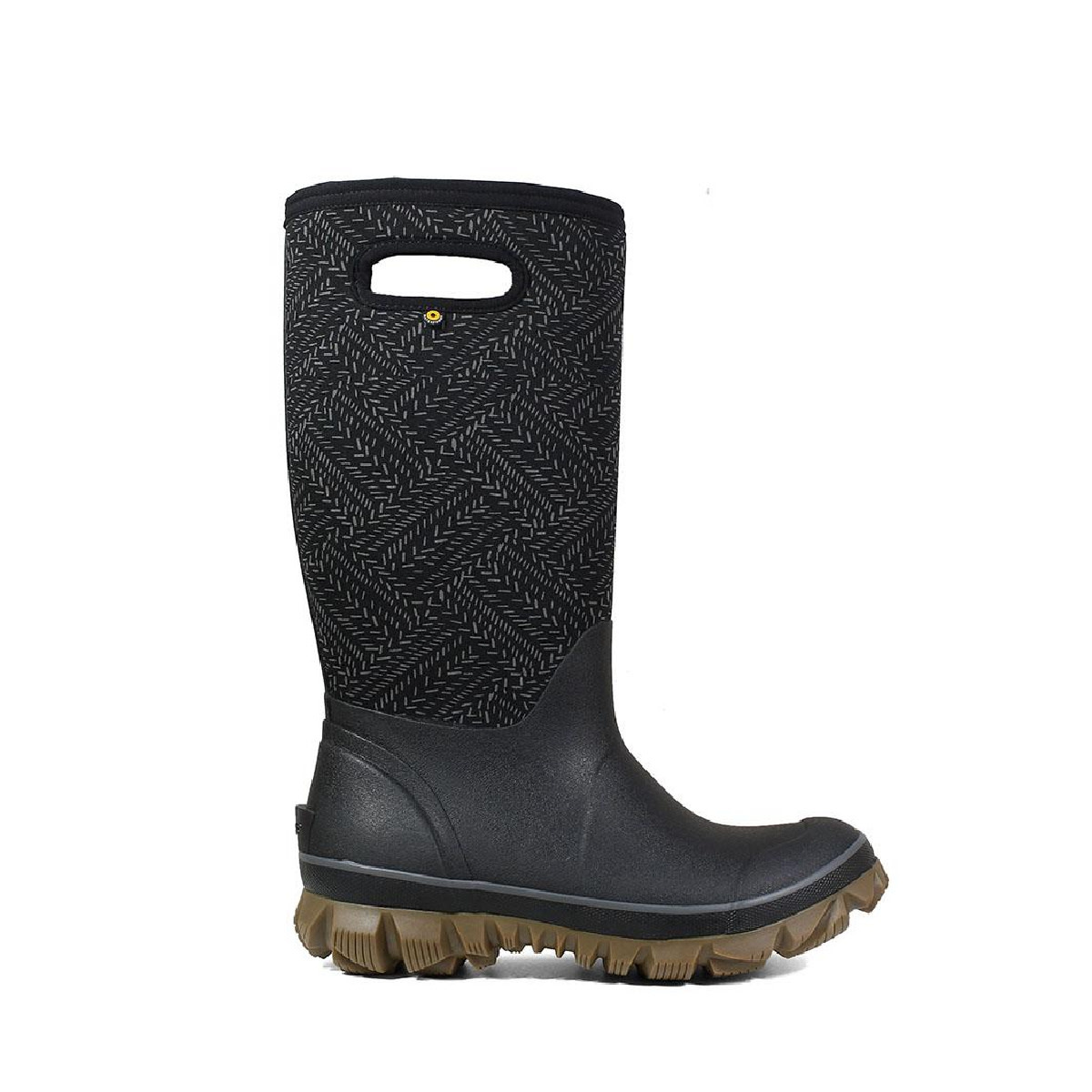 BOGS Women's Whiteout Fleck Black