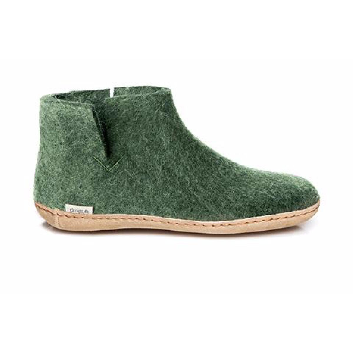 Glerups Glerups Women's  Boot Leather Sole Forest