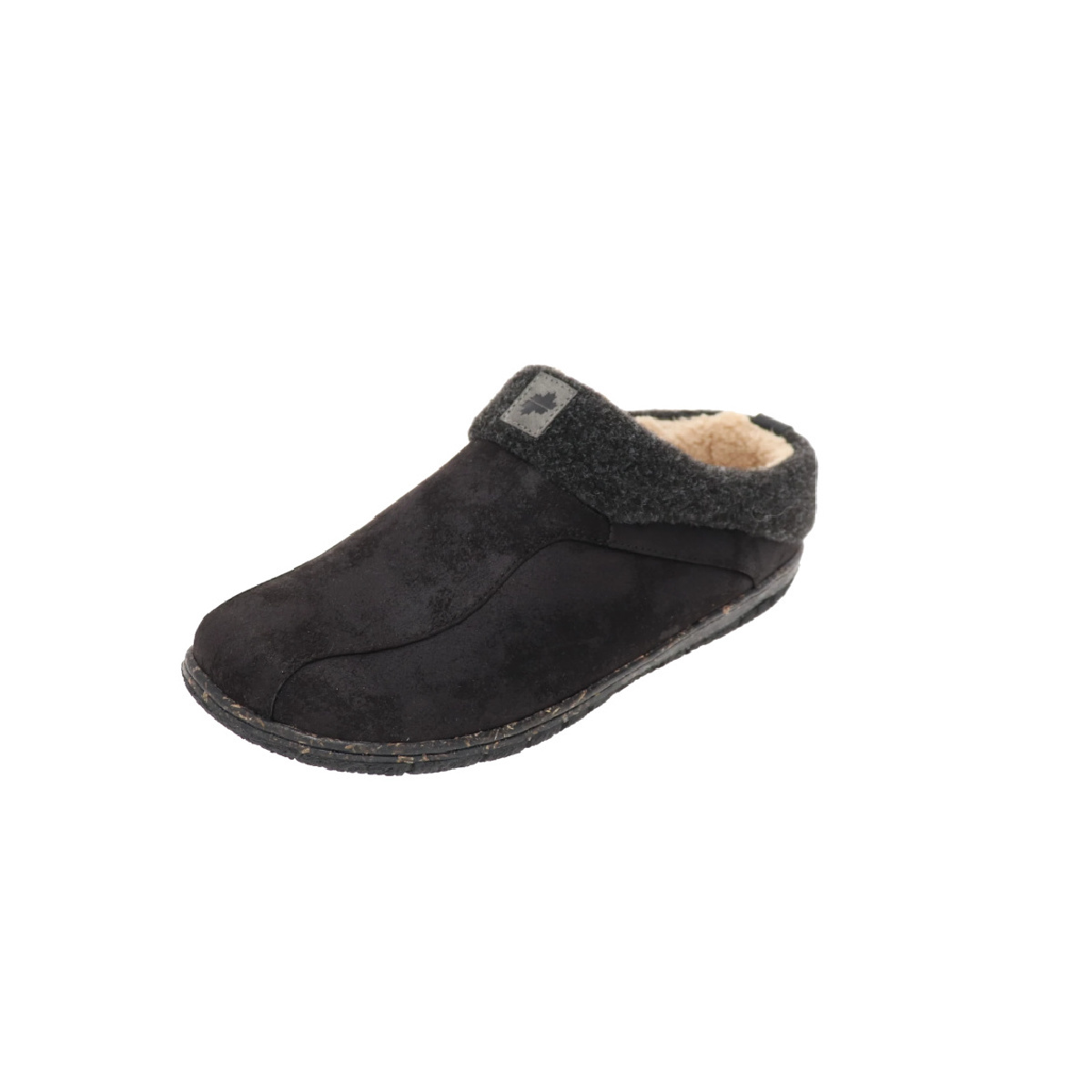 Foamtreads Lucas II Slipper Black