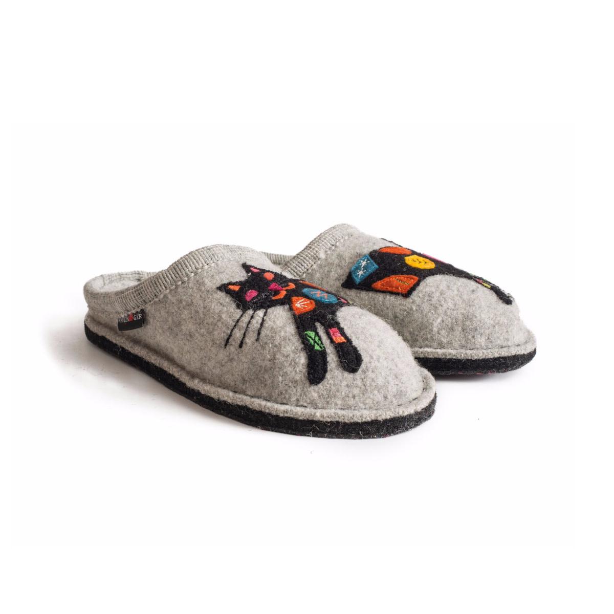 Haflinger Haflinger Women's Sassy Slipper Grey