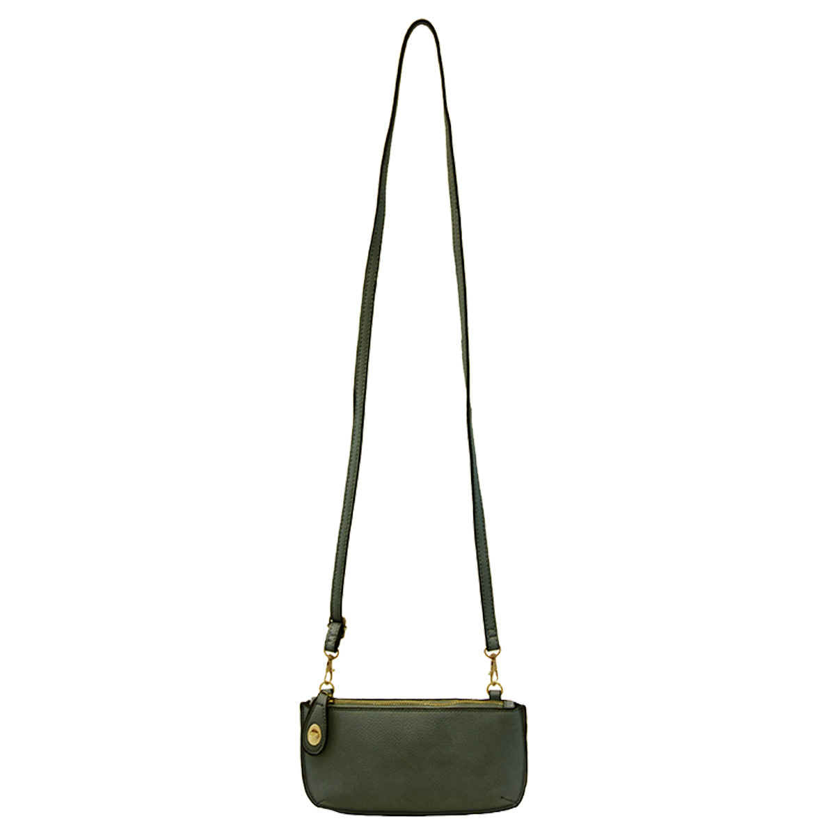 Joy Susan Joy Susan Mini Crossbody Wristlet Clutch Forest