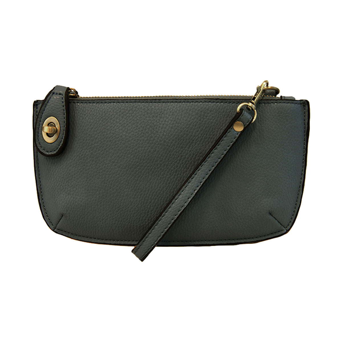 Joy Susan Joy Susan Mini Crossbody Wristlet Clutch Dark Cyan