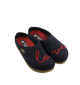 Haflinger Women's Lovely Clog Navy