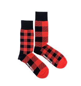 Friday Sock Co. Red Plaid Socks