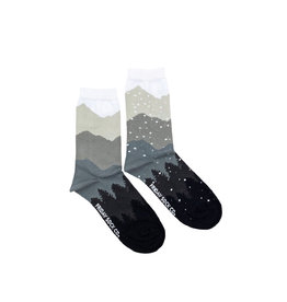 Friday Sock Co. Recycled Cotton Mount & Snow