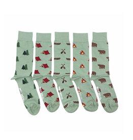 Friday Sock Co. Men's 5Pk Laundry Box Socks