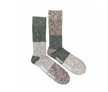 Friday Sock Co. Men's Evergreen Camp Socks