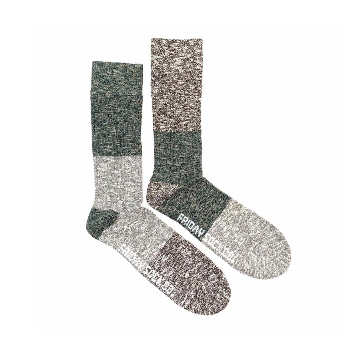 Friday Sock Co. Friday Sock Co. Men's Evergreen Camp Socks