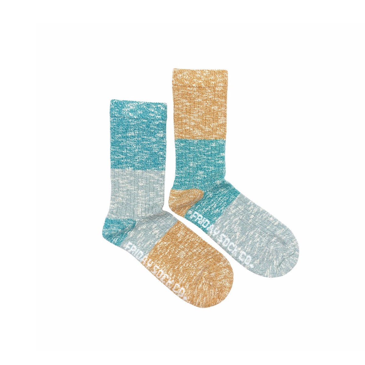Friday Sock Co. Friday Sock Co. Women's Morning River Camp Socks