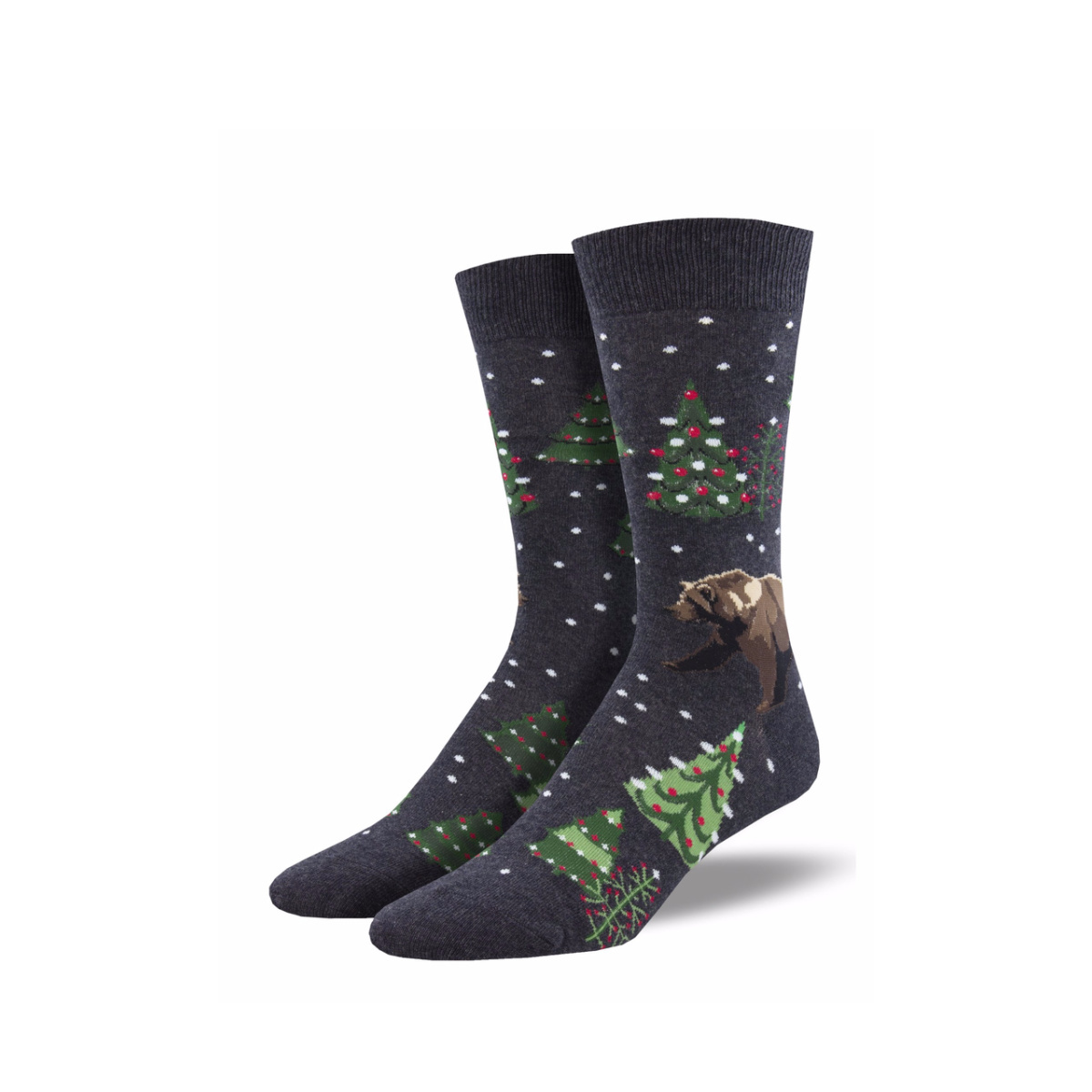 Socksmith Socksmith Men's Cotton Beary Christmas