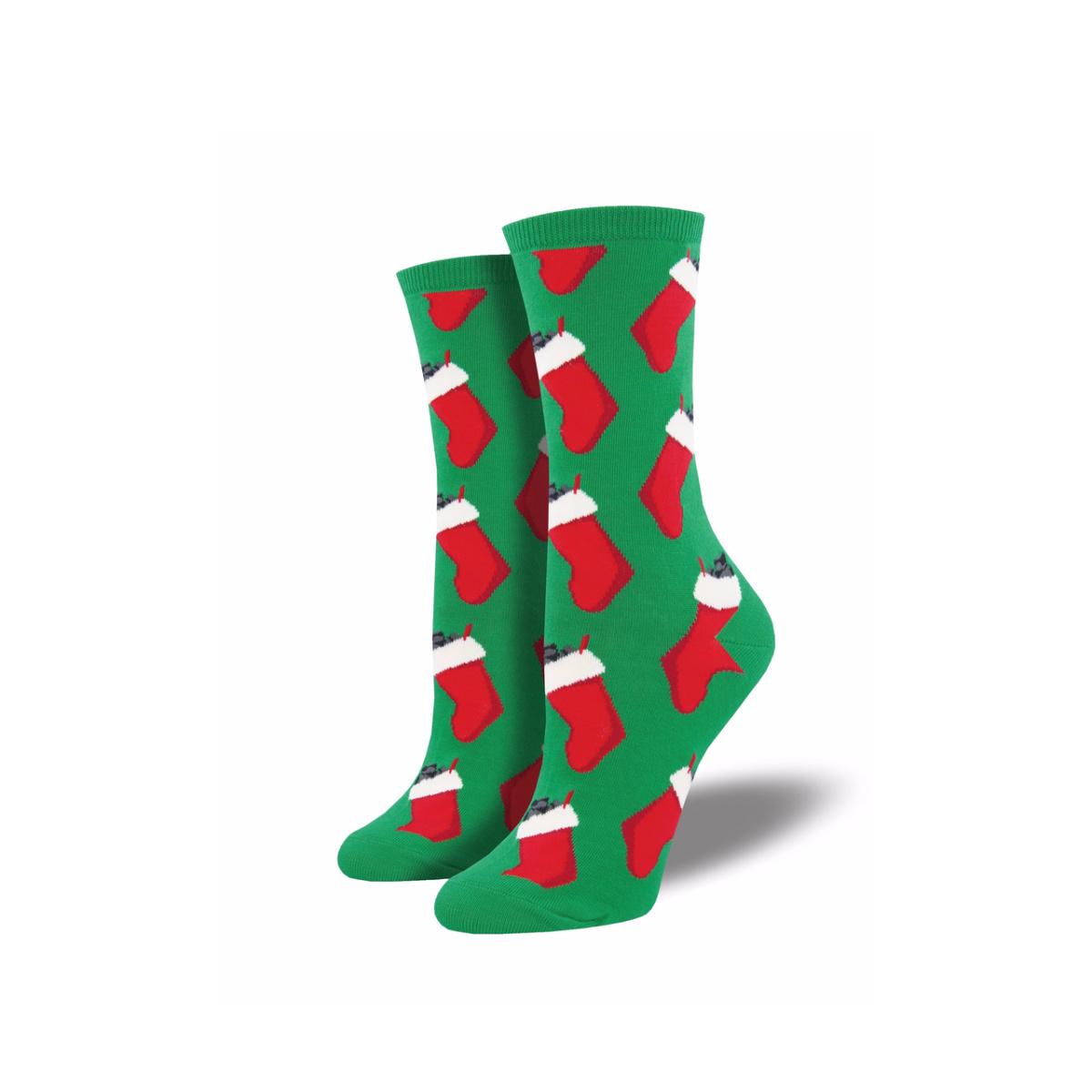 Socksmith Socksmith Women's Cotton Blend Socks Christmas Coal