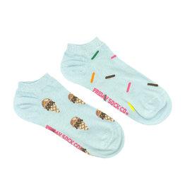 Friday Sock Co. Women's Ice Cream & Sprinkles Ankle W 5 - 10 (M - 4 - 8)
