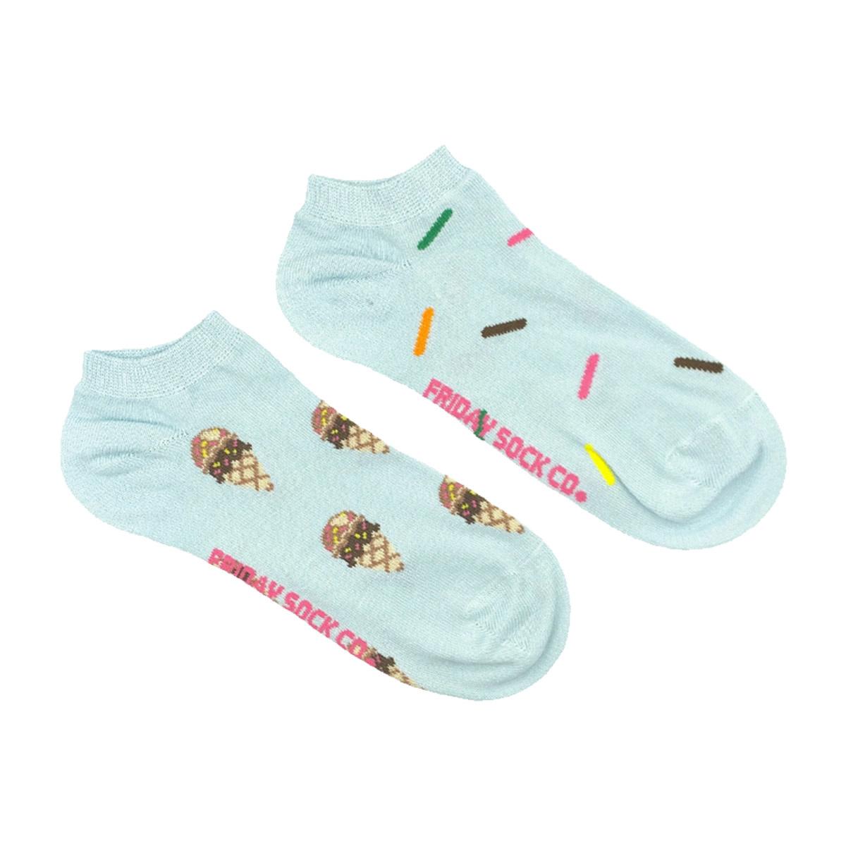 Friday Sock Co. Friday Sock Co. Women's Ice Cream & Sprinkles Ankle W 5 - 10 (M - 4 - 8)