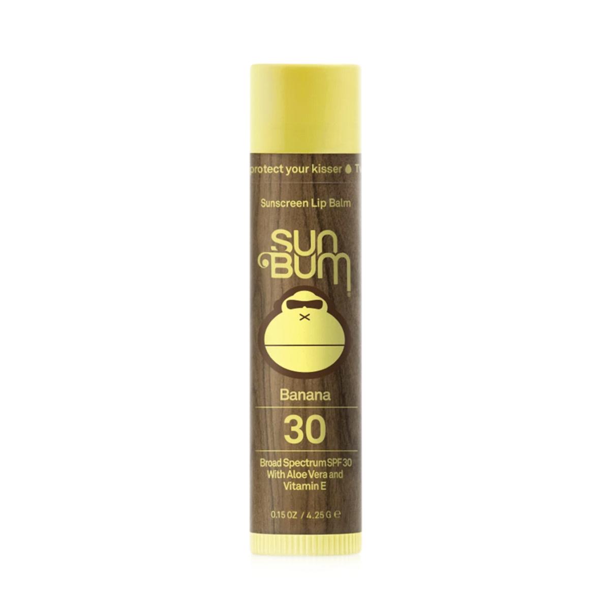 Sun Bum Sun Bum SPF 30 Banana Lip Balm