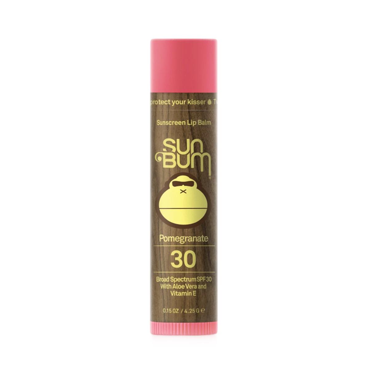 Sun Bum Sun Bum SPF 30 Pomegranate Lip Balm