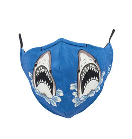 Socksmith Mask Shark Attack Blue