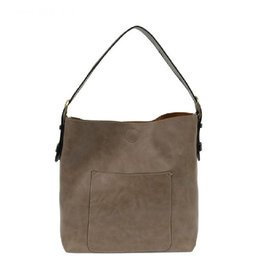 Joy Susan Classic Hobo Handbag Mushroom