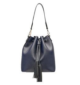 Lounenhide Apollo Bucket Bag Navy