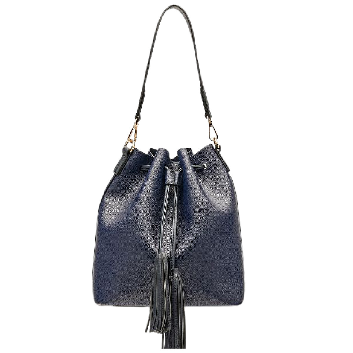 Lounenhide Apollo Bucket Bag Tan