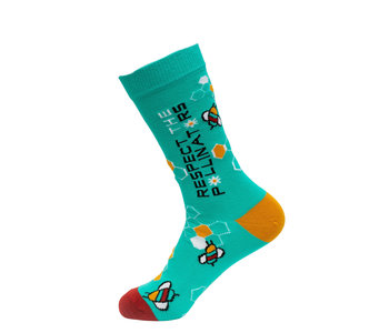 Socks Atomica Respect The Pollinators