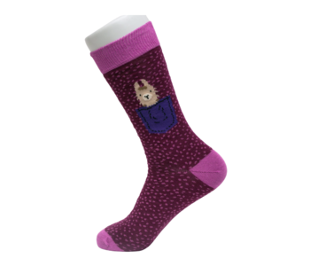 Socks Atomica Llama Pocket