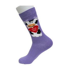 Socks Atomica I Love Moo