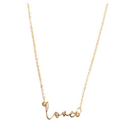 Michelle McDowell Luxe LOVE Necklace