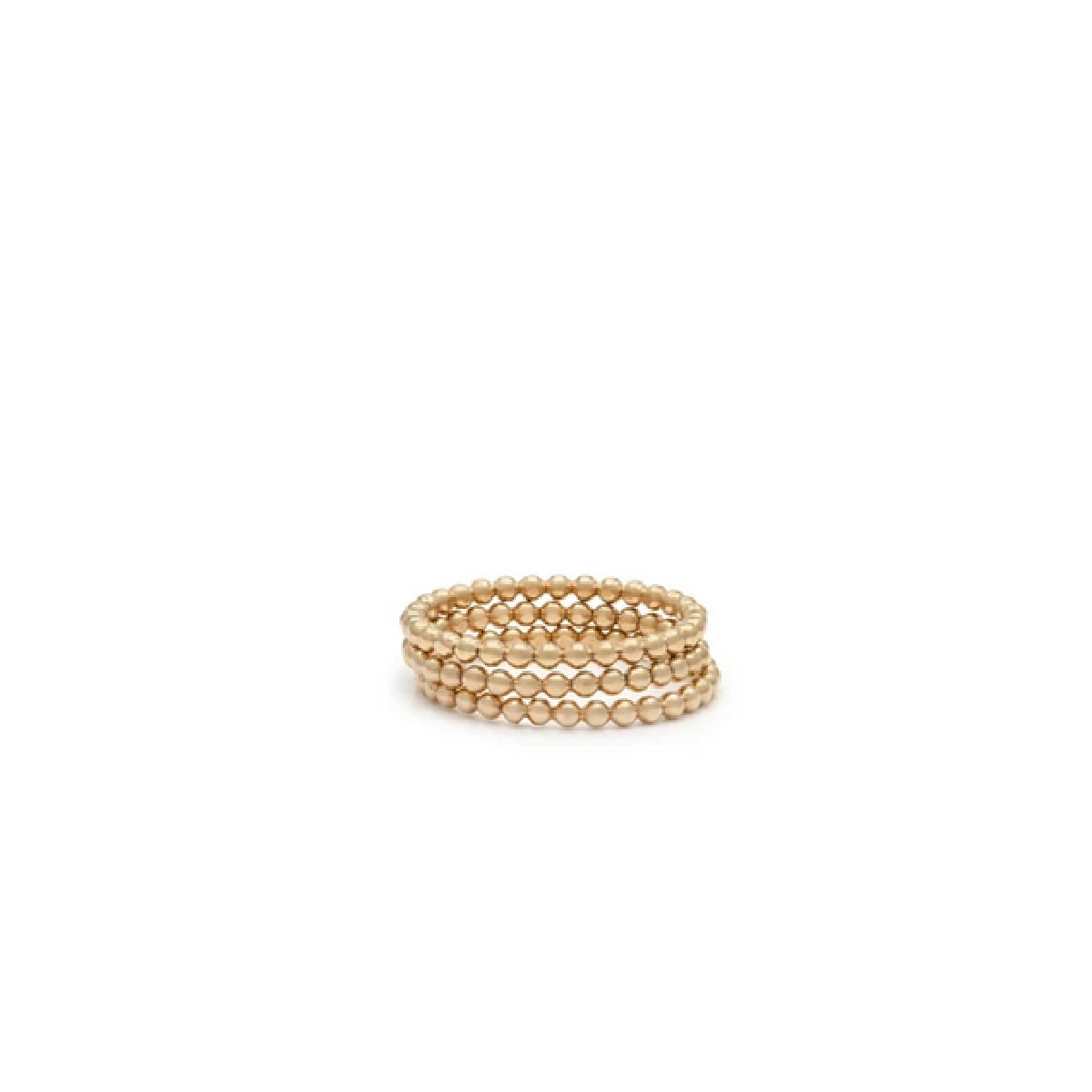 Laughing Sparrow Stacking Bead Ring