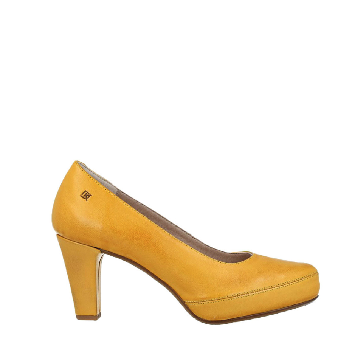 Dorking Dorking D5794 Heel Yellow