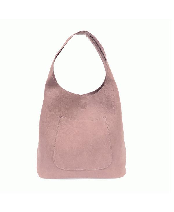 Joy Susan Molly Slouchy Hobo Handbag Dusty Amethyst