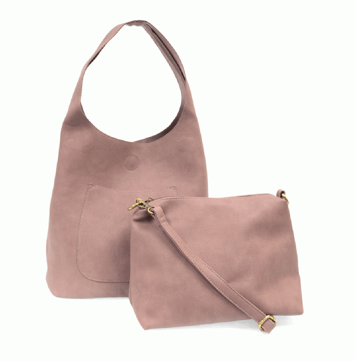 Joy Susan Joy Susan Molly Slouchy Hobo Handbag Dusty Amethyst
