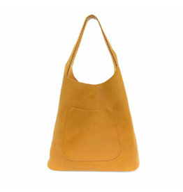 Joy Susan Molly Slouchy Hobo Handbag Amber