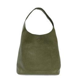 Joy Susan Molly Slouchy Hobo Handbag Basil