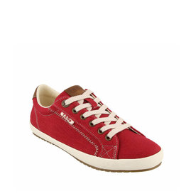 Taos Star Burst Sneaker Red