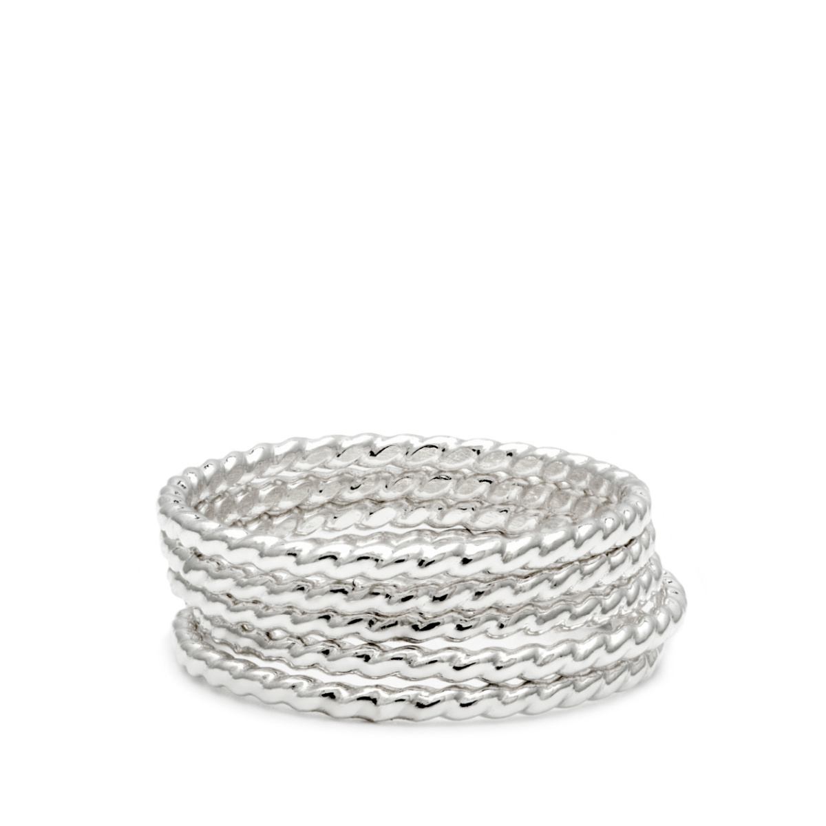 Laughing Sparrow Stacking Rope Ring