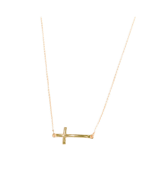Michelle McDowell Cross Necklace