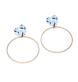 Michelle McDowell Posie Hoop Earrings