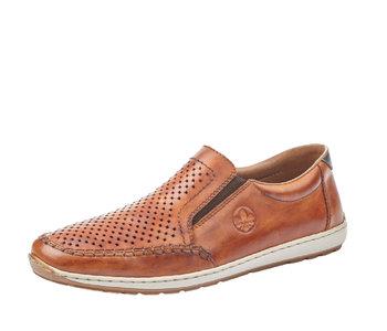 Rieker 08868-24 Slip-On Loafer Brown