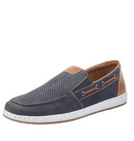 Rieker 18266-14 Slip-On Boat Shoe Blue