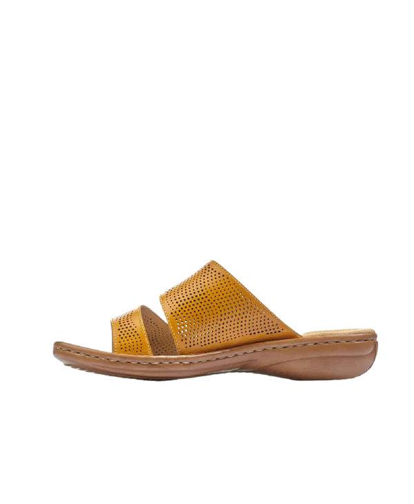 Rieker 60812-68 Slide Yellow