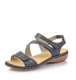 Rieker 65977-14-90 Sandal Navy