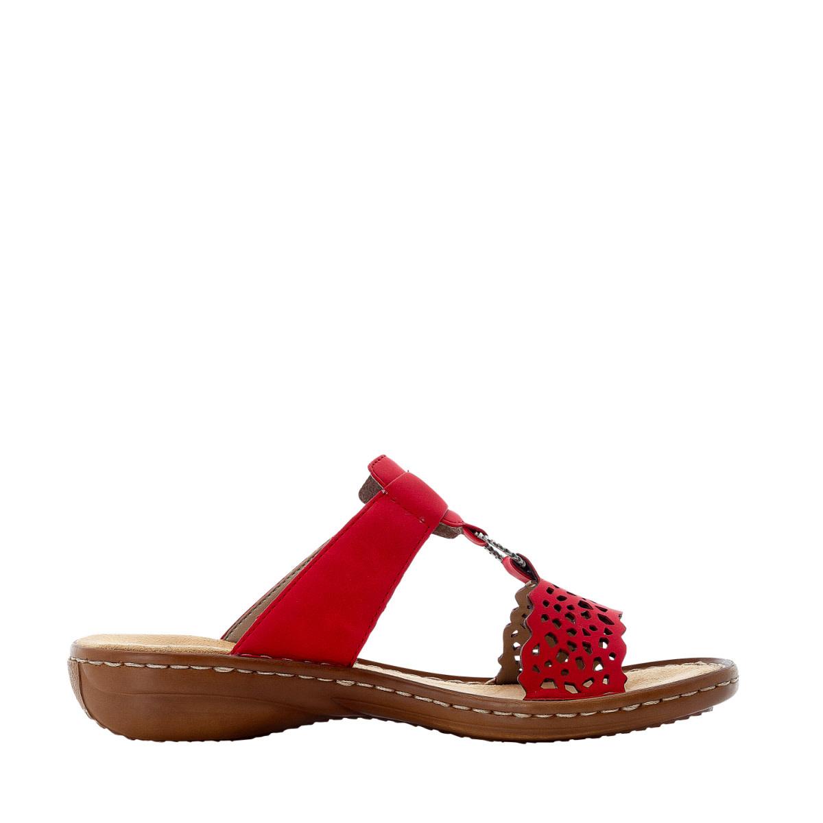 Rieker Rieker 608A7-33 Sandal Red
