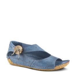 Spring Step Lorelle Sandal Blue