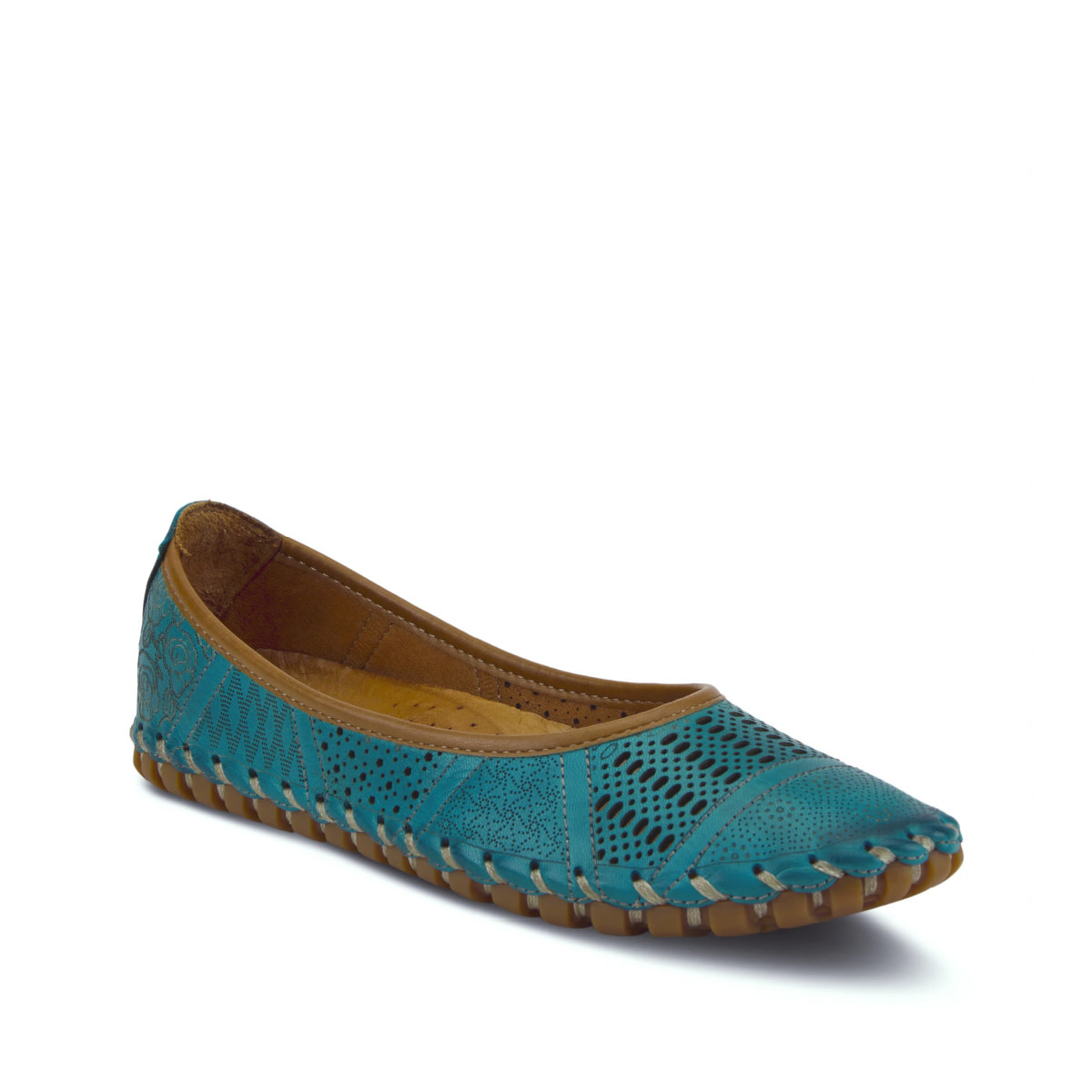 Spring Step Spring Step Kenyetta Shoe Turquoise
