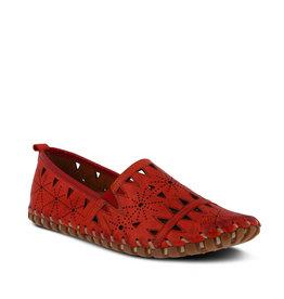 Spring Step Fusaro Shoe Red
