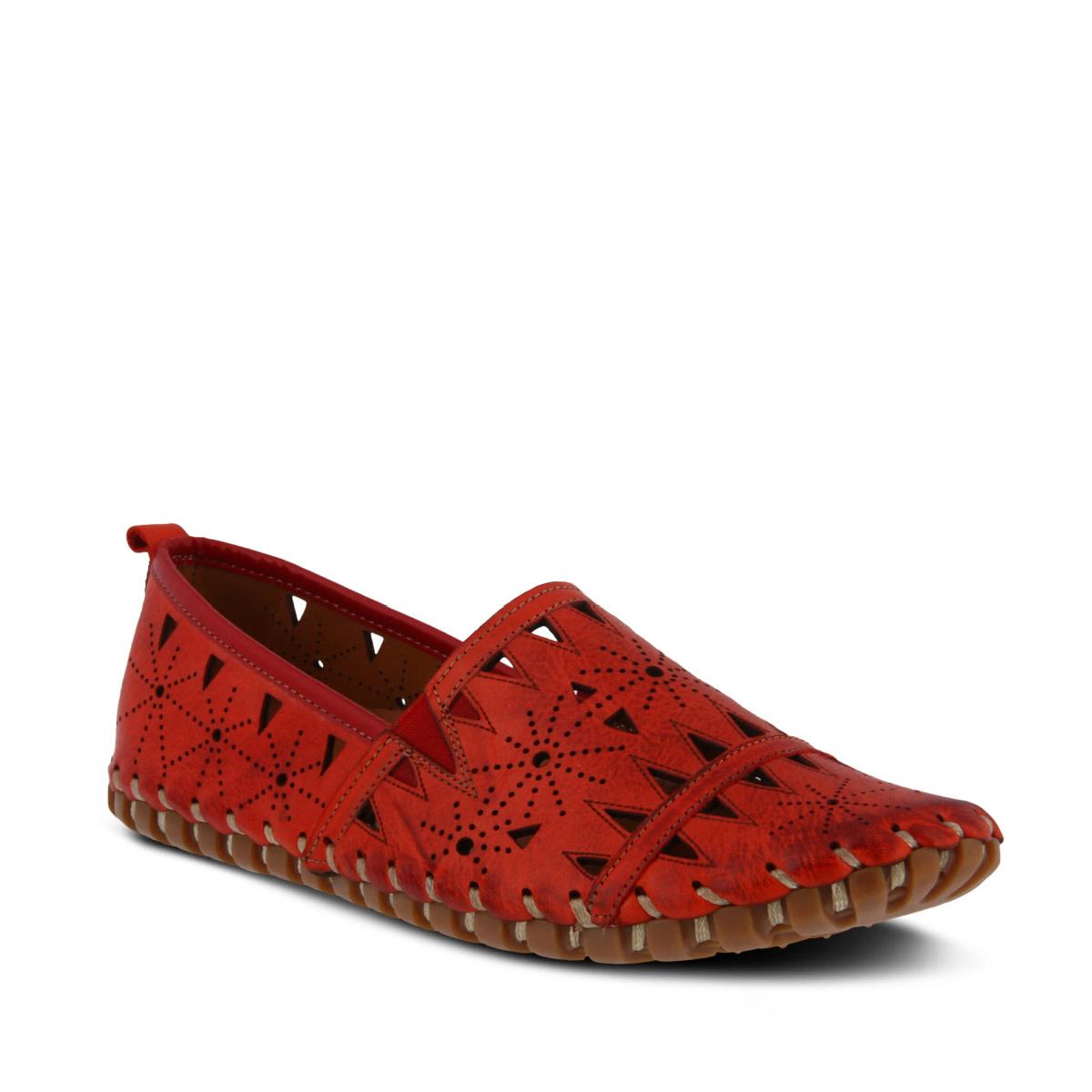 Spring Step Spring Step Fusaro Shoe Red