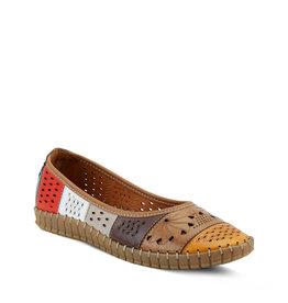 Spring Step Elancer Shoe Orange Multi