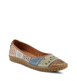Spring Step Elancer Shoe Brown Multi