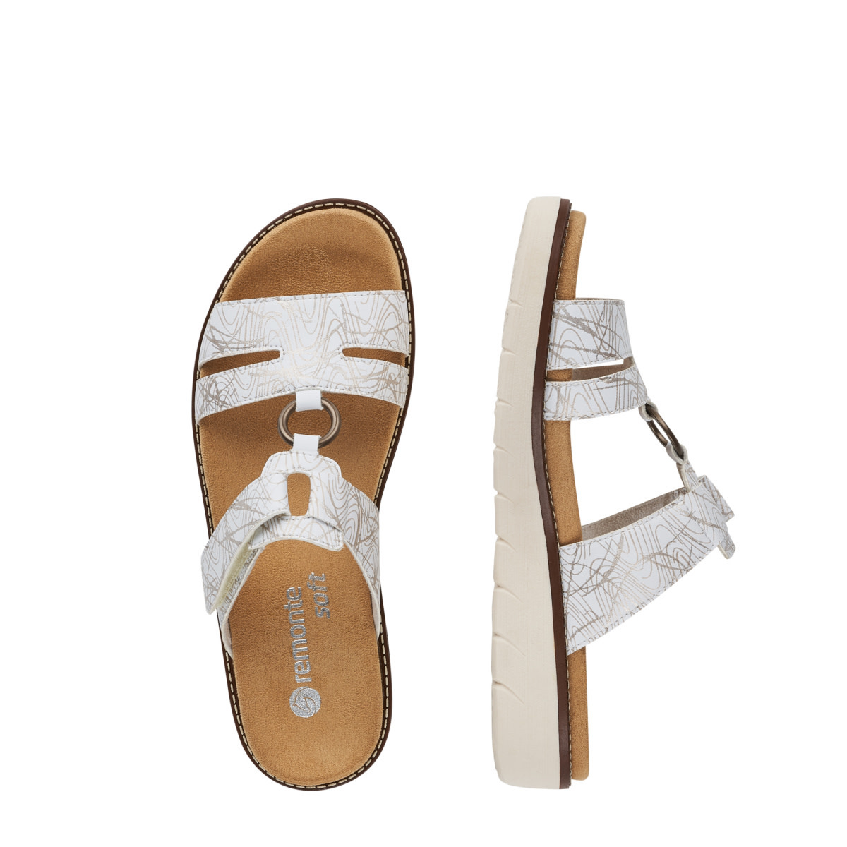 Remonte Remonte D2056-80 Sandal White