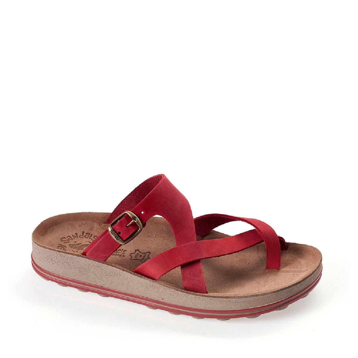 Fantasy Sandals Ariadni Red Brush